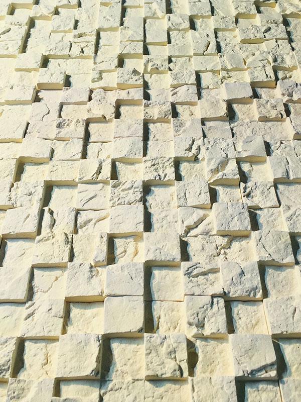 Гипсовая 3D плитка Шахматы С02-002