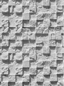 Гипсовая плитка 3D Мозаика Белый