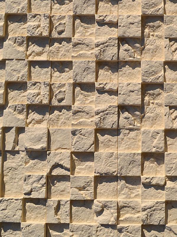 Гипсовая плитка 3D Мозаика Песочный