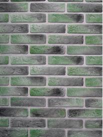 Гипсовый кирпич Антик Зеленый лофт