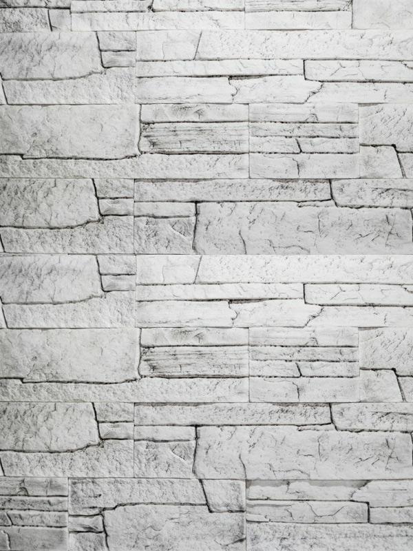 Гипсовый камень Сланец классический Белая скала