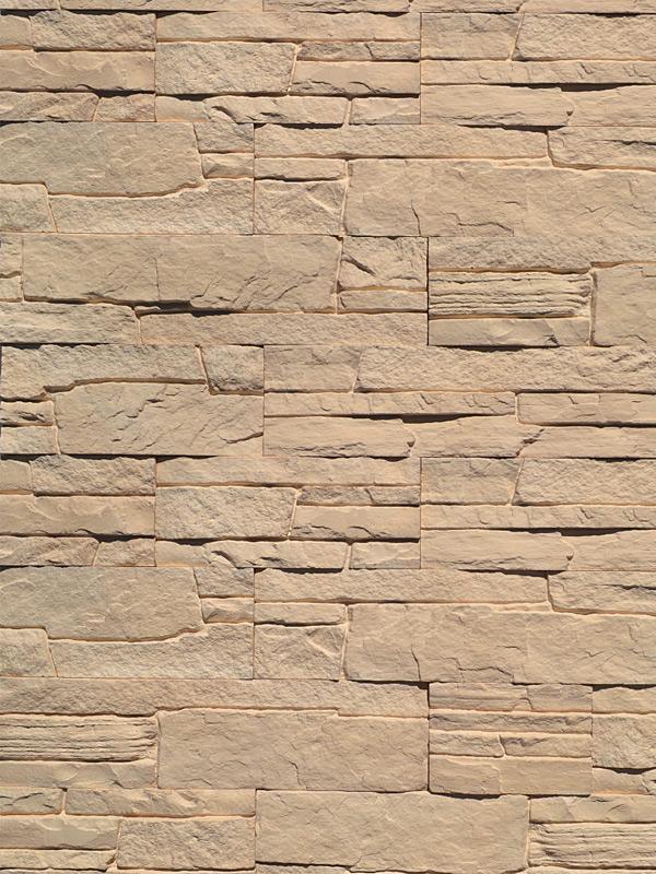Гипсовый камень Сланец классический Песочный