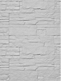 Гипсовый камень Сланец классический Светло-серый