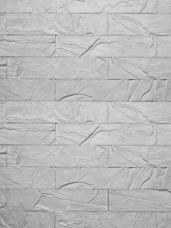 Гипсовый камень Уральский скол Светло-серый