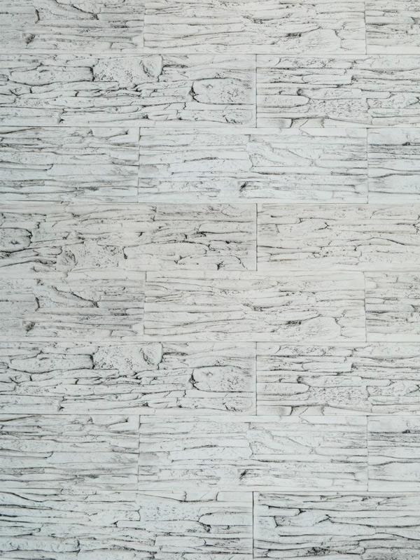 Гипсовый камень Сланец тонкослойный Белая скала