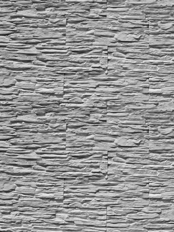 Гипсовый камень Сланец тонкослойный Белый