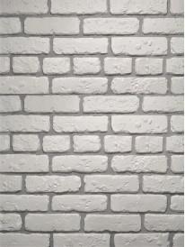 Гипсовый кирпич Выветренный Белый
